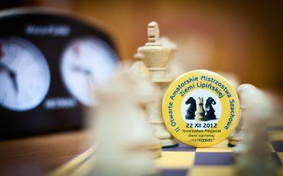 Zapraszamy na II Otwarte Amatorskie Mistrzostwa Szachowe Ziemi Lipińskiej