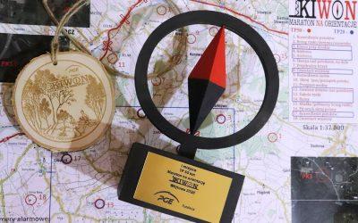 Podziękowania dla wszystkich zaangażowanych w organizację IV Maratonu na Orientację KIWON