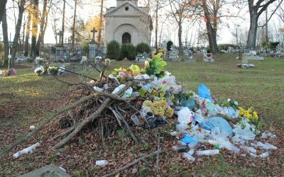 Koszty porządkowania starego cmentarza w Lipinkach w 2020 roku